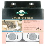 2 Meal Pet Feeder