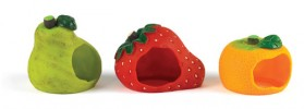 Fruity hamster house assortment