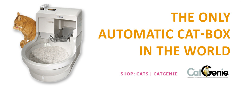 The only automatic cat-box in the world