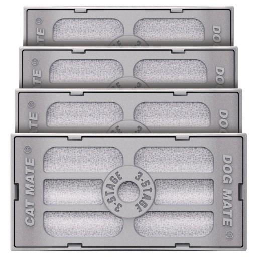Pet Mate - 3-Stage Filter Cartridges: Pet Fountain (4 Pack)