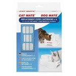 Replacement cartridges for Cat Mate and Dog Mate fountains