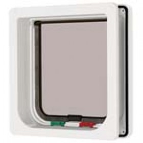Catmate 4 Way Locking Cat Flap with Door Liner