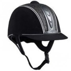 HARRY HALL RIDING HAT LEGEND COSMOS PAS015 JUNIOR BLACK