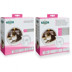Infra Red 4 way deluxe cat flap