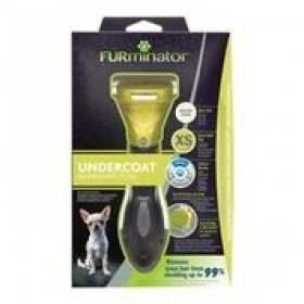 DESHEDDING TOOL FOR SHORT HAIRED EXTRA SMALL DOGS