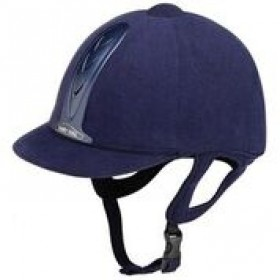 HARRY HALL RIDING HAT LEGEND PAS015 JUNIOR NAVY BLUE