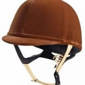 Caldene Riding Hat Tuta Junior Brown - 55cm