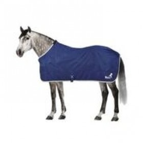 MASTA FLEECE RUG SHOWMASTA NAVY