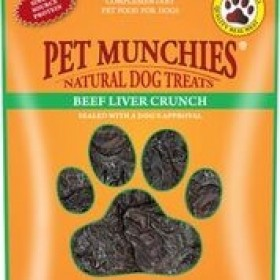 Pet Munchies - Beef Liver Crunch 90g
