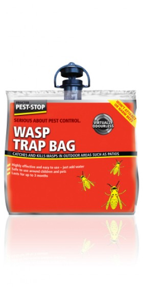 Outdoor wasp trap