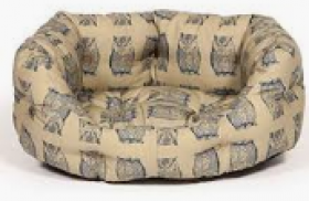 Danish Design Woodland Owls Slumber Pet Bed - 45cm