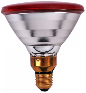 Philips infrared bulb PAR 100W red