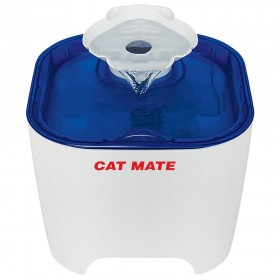 Cat Mate - Shell Pet Fountain, Blue Base - 3 ltr