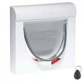 Magnetic 4 way locking Classic Cat flap